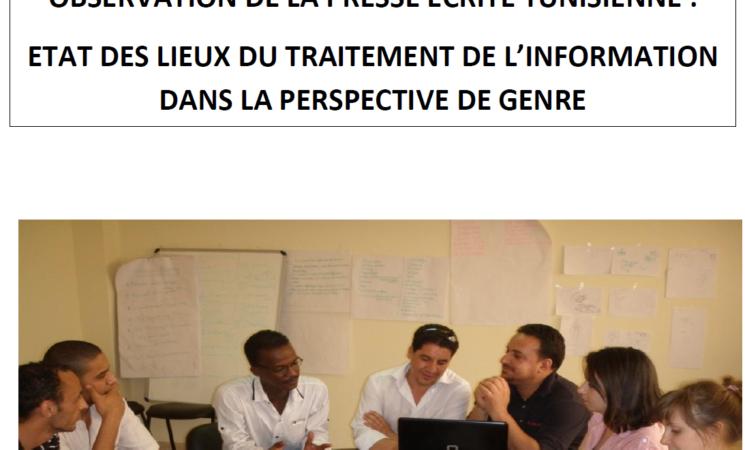 Observation de la presse écrite tunisienne : état des lieux du traitement de l'information dans la perspective de genre