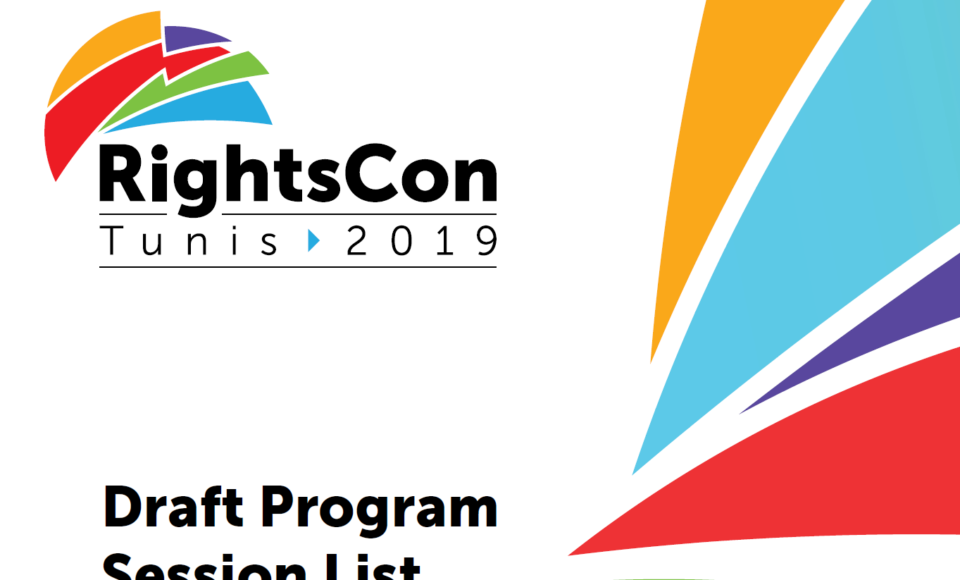 Programme RightsCon Tunis 2019