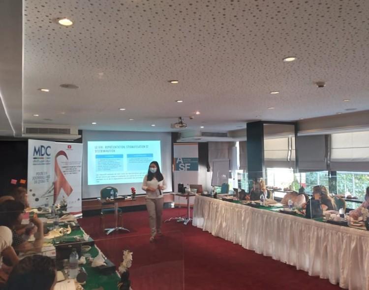 Session de formation au profit des journalistes autour du thème des droits de l'Homme et le VIH